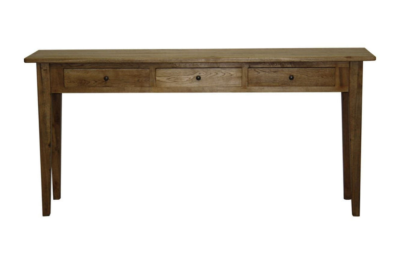 Gaudion Furniture Console, Hall Table 1 x Tapered Leg Console Table 3 Drawers Tapered Leg Console Table 2 sizes