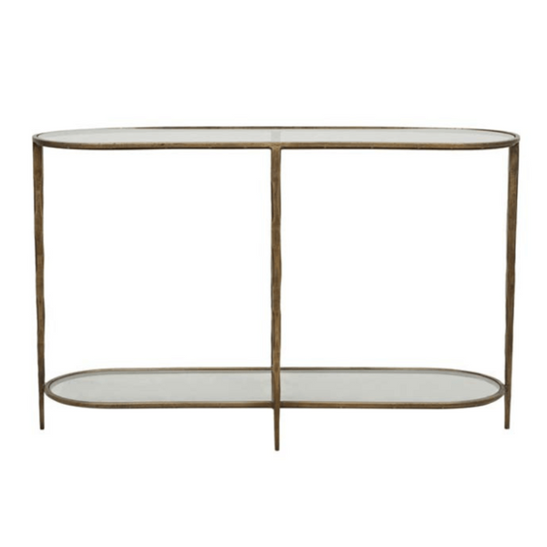 Gaudion Furniture Console Table 1 x Style 1 Two Glass Shelves Amelie Console Amelie Console Table