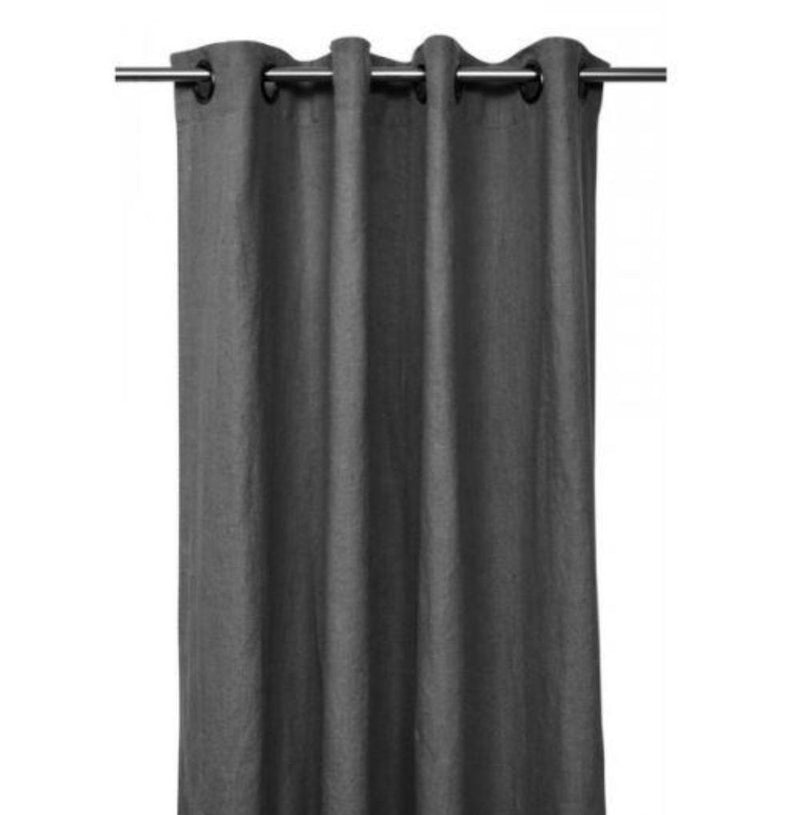 Gaudion Furniture Curtains 1 x Granite Curtain (order item) Curtains Linen Stonewash 3 Colours
