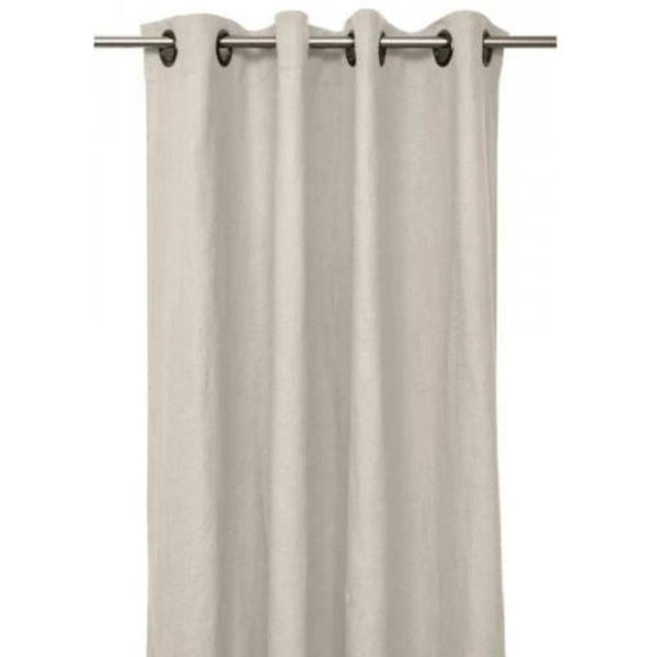 Gaudion Furniture Curtains 1 x Natural Curtain (order item) Curtains Linen Stonewash 3 Colours