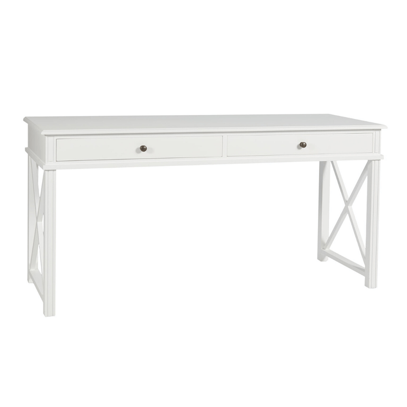 Gaudion Furniture Desk 1 x Hamptons White Desk Hampton's White Desk