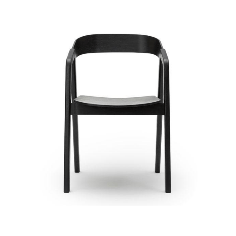 Gaudion Furniture Dining Chair 1 x Chair Valby Black Valby Black Dining Chairs Black & Natural