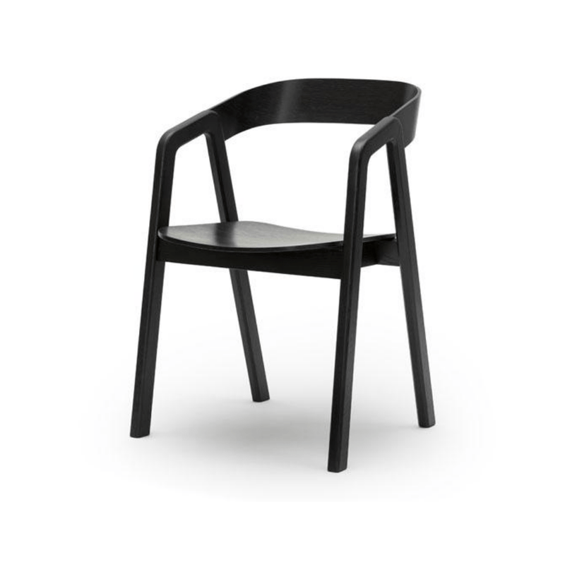 Gaudion Furniture Dining Chair Valby Black Dining Chairs Black & Natural