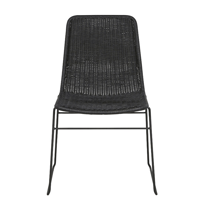 Gaudion Furniture Dining Chairs 1 x Black Olivia Dining Chair Olivia Dining Chairs 2 Colours