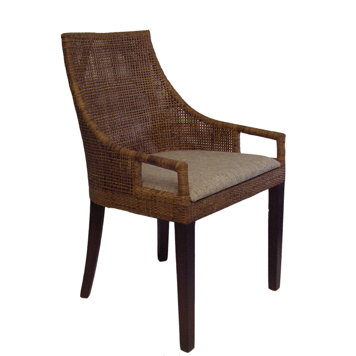 Gaudion Furniture Dining Chairs 1 x Brown Avoca Chair Avoca Dining Chairs 3 Colours