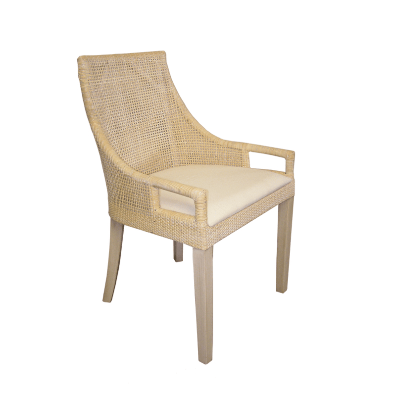 Gaudion Furniture Dining Chairs 1 x White Avoca Chair Avoca Dining Chairs 3 Colours