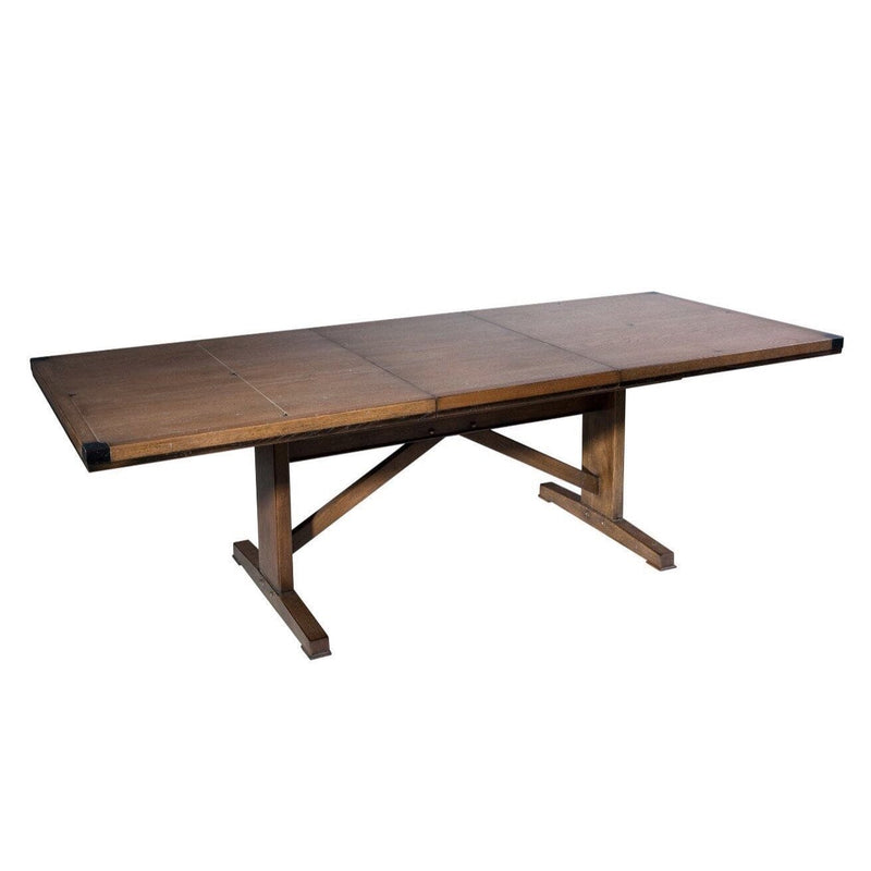 Gaudion Furniture Dining Table 180 x 100 with 1 extension Loft Oak Dining Table 4 Sizes