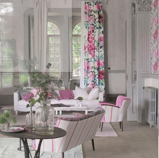 Gaudion Furniture Fabric Designers Guild Shanghai Garden Fabric 3 colours
