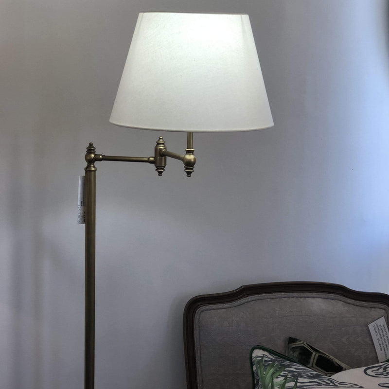 Gaudion Furniture Floor Lamp Floor Lamp Orsay Aged Nickel or Brass