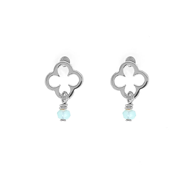 Gaudion Furniture Jewellery Earrings Clover Gold & Silver
