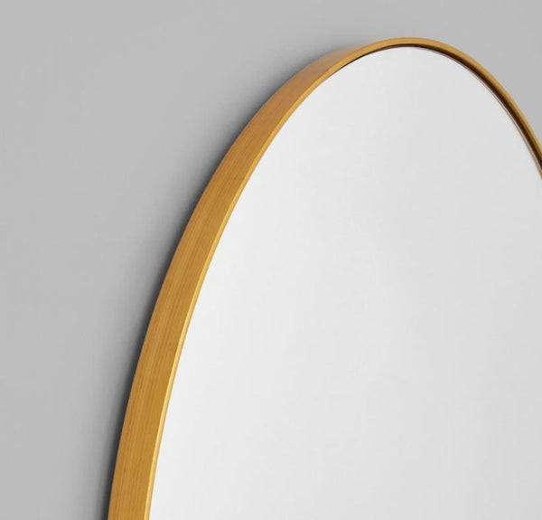 Gaudion Furniture Mirror Arch Mirror Black or Brass