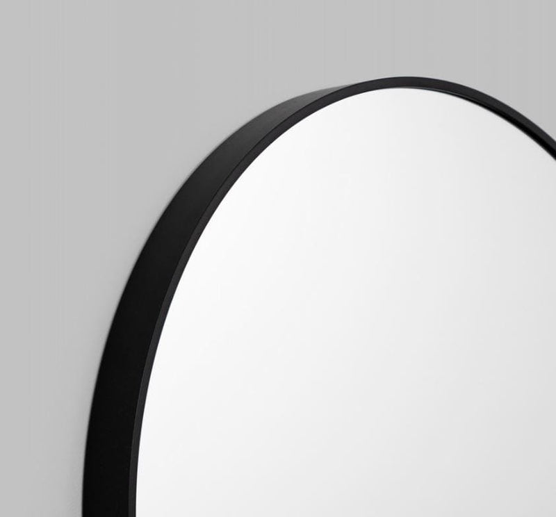 Gaudion Furniture Mirror Round Mirror Gold or Black