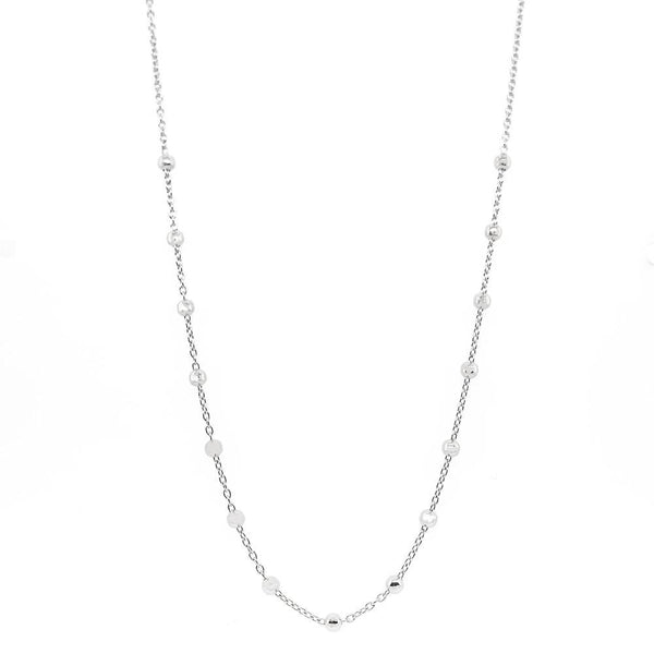 Gaudion Furniture Necklace 1 x Silver Ball Necklace Necklace Balls Silver or Gold
