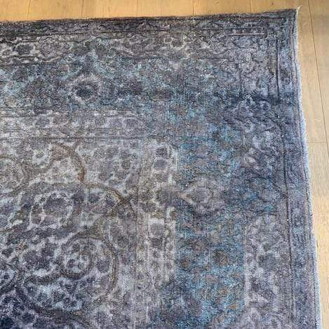 Gaudion Furniture Rug Turkish Hand knotted Vintage Rug 3 D Collection Jewel Colour