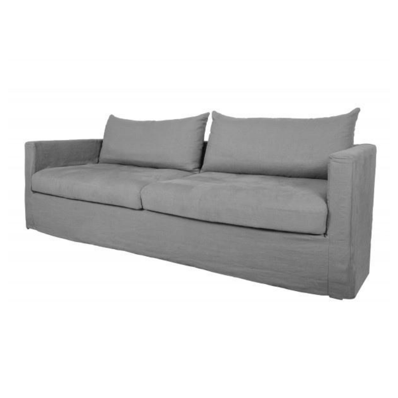 Gaudion Furniture sofa 1 x Beton 205 cm Harmony Sofa Harmony Sofa Loose Cover 3/4 Seats  - 7 colours