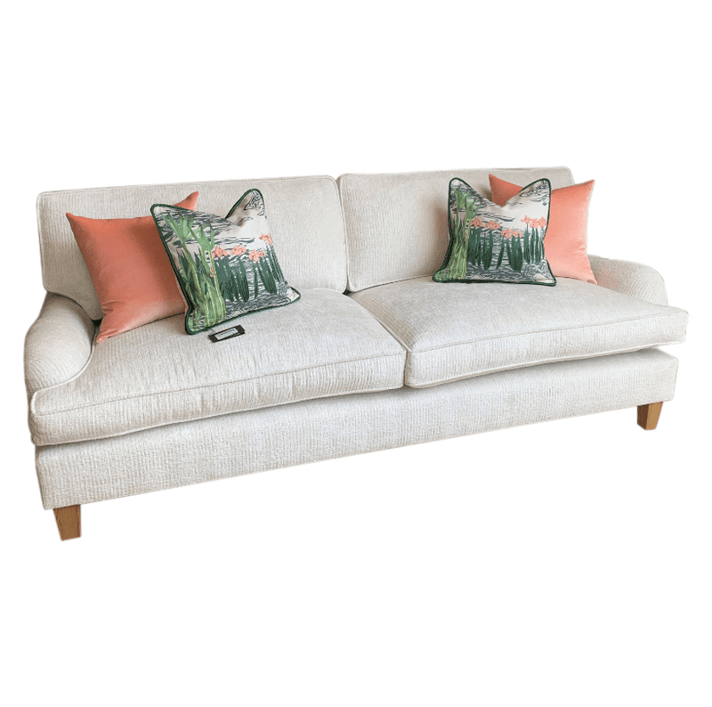 Gaudion Furniture Sofa 1 x Hamptons Sofa (not sold w coloured cushions) Hampton's Sofa In Stock