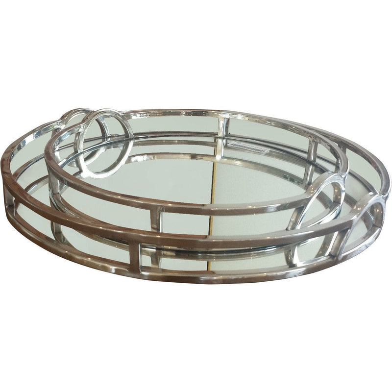 Tray Mirror Round Gaudion Furniture