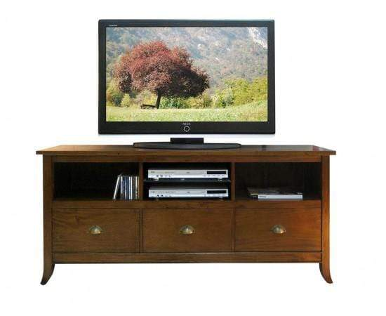 Gaudion Furniture TV Unit 1 x Olso TV Unit Walnut Stain Oslo TV Unit 3 colours