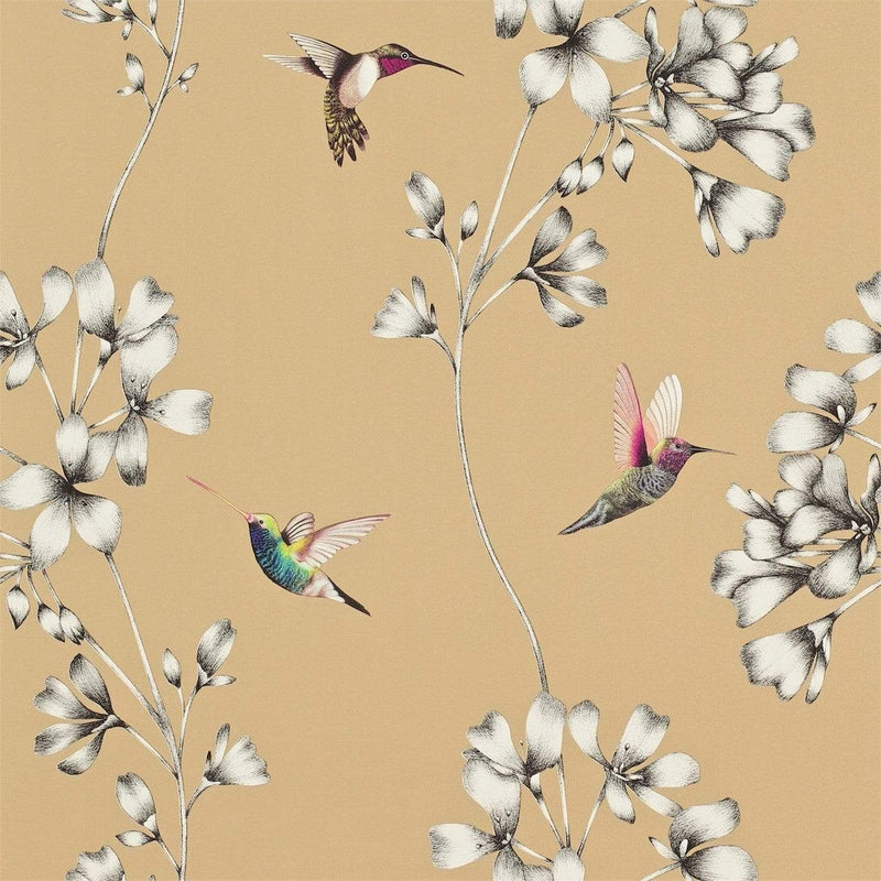 Gaudion Furniture Wallpaper 1 x Roll of Amazilia Bronze Wallpaper Harlequin Amazilia Wallpaper 6 colours