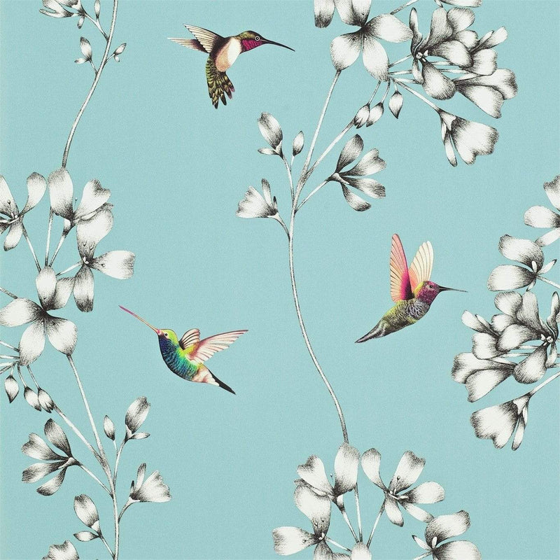 Gaudion Furniture Wallpaper 1 x Roll of Amazilia Sky Wallpaper Harlequin Amazilia Wallpaper 6 colours