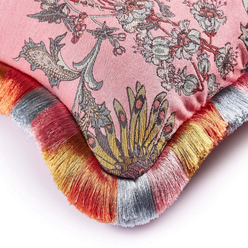 House of Hackney Cushions House of Hackney Florafantasia Jacquard Bisque-Pink Cushion (Coming Soon)