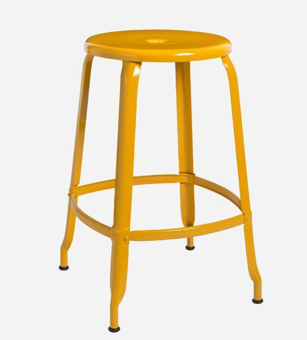 Nicolle Bar stools 1 x Nicolle Stool Daffodil Yellow 60 cm Nicolle Stool 60 cm 8 Colours