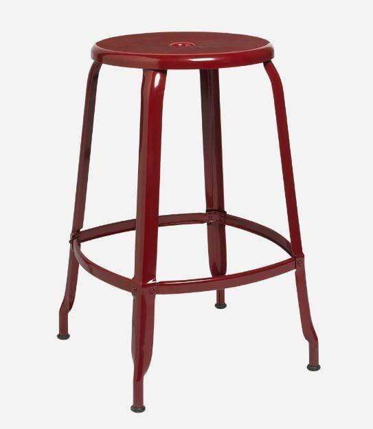 Nicolle Bar stools 1 x Nicolle Stool Gloss Red Brown 60 cm Nicolle Stool 60 cm 8 Colours