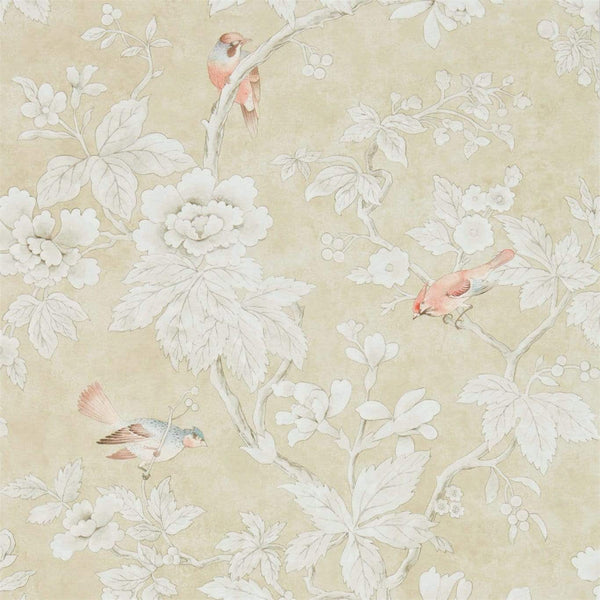 Sanderson Wallpaper 1 x Gold Chiswick Wallpaper Roll Sanderson Chiswick Grove Wallpaper 4 Colours