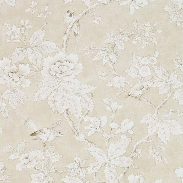 Sanderson Wallpaper 1 x Linen Chiswick Wallpaper Roll Sanderson Chiswick Grove Wallpaper 4 Colours