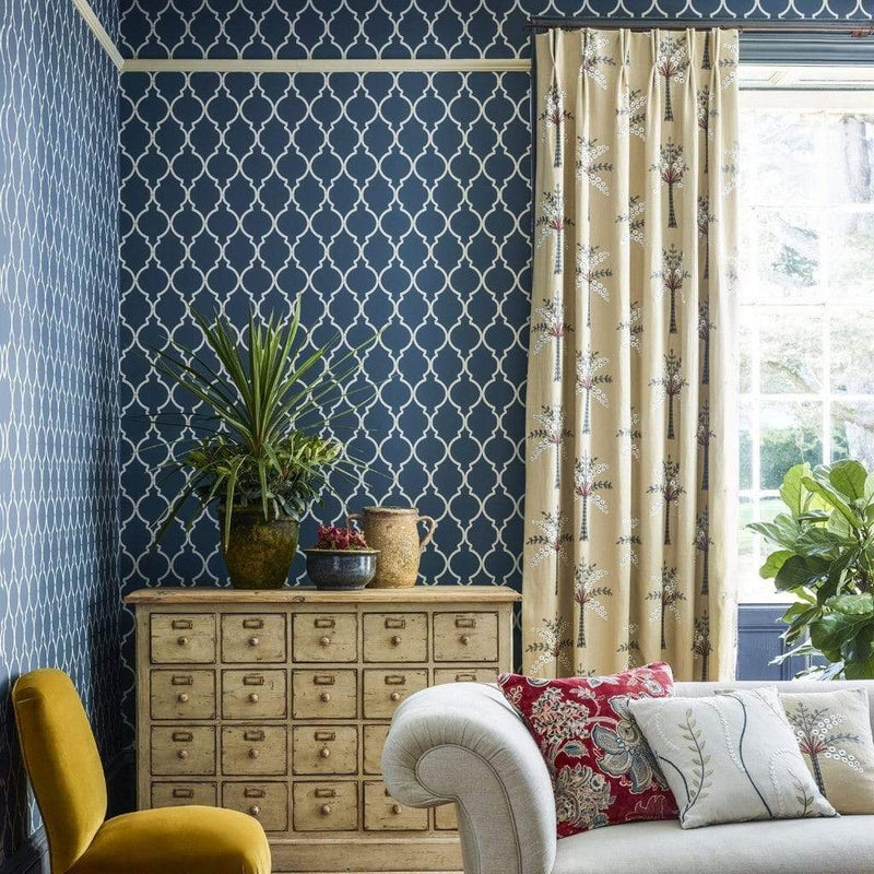 Sanderson Wallpaper Sanderson Empire Trellis Wallpaper 4 Colours