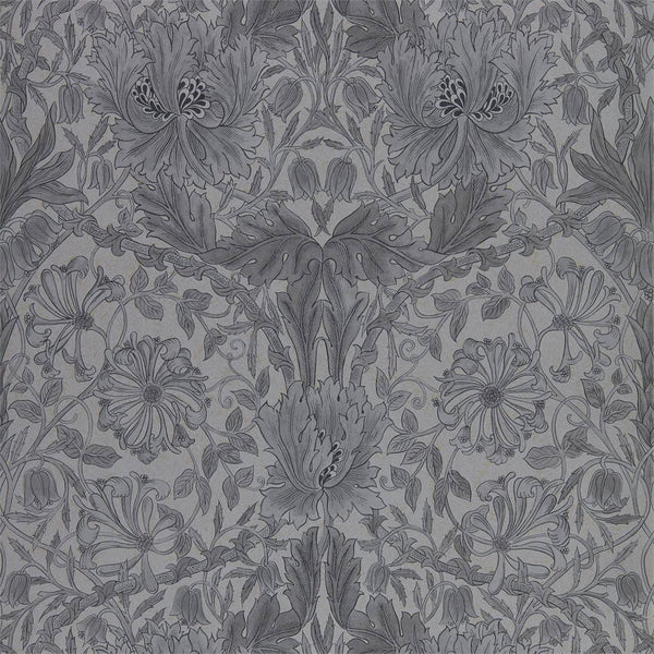William Morris Wallpaper 1 x Black Ink Pure Honeysuckle and Tulip Wallpaper Roll William Morris Pure Honeysuckle and Tulip Wallpaper 4 colours