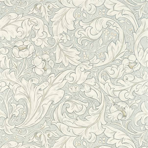 William Morris Wallpaper 1 x Metre of Grey Blue Pure Bachelors Button Wallpaper William Morris Pure Bachelors Button Wallpaper 2 colours