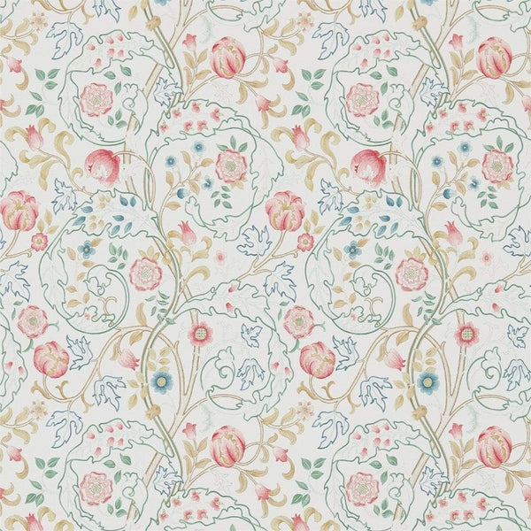 William Morris Wallpaper 1 x Pink & Ivory Mary Isobel Wallpaper Roll William Morris Mary Isobel Wallpaper 5 colourways