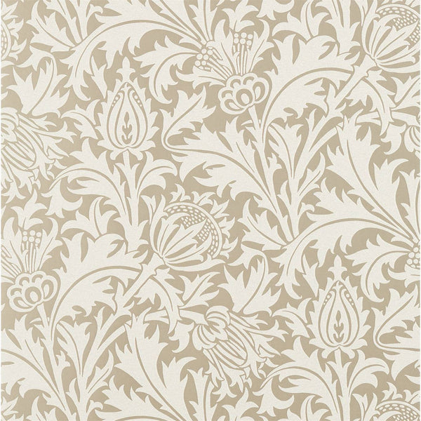 William Morris Wallpaper 1 x Pure Thistle Wallpaper Roll William Morris Pure Thistle Beaded Wallpaper