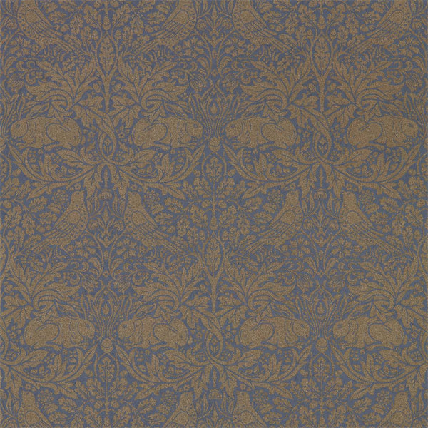 William Morris Wallpaper 1 x Roll of Ink/Gold Pure Brer Rabbit Wallpaper William Morris Pure Brer Rabbit Wallpaper 5 colours