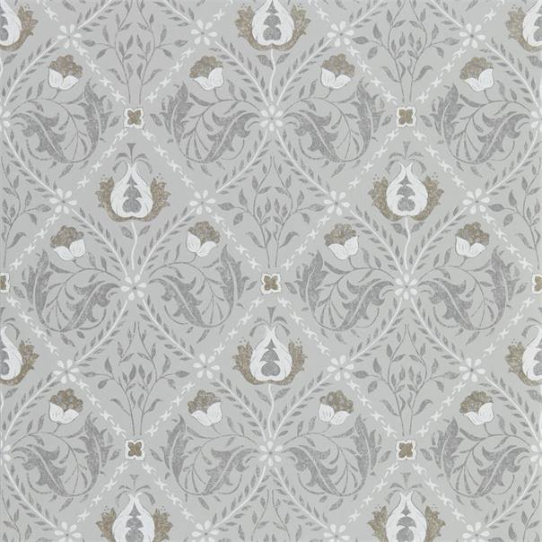 William Morris Wallpaper 1 x Roll of Lightish Grey Pure Trellis Wallpaper William Morris Pure Trellis Wallpaper 3 colours