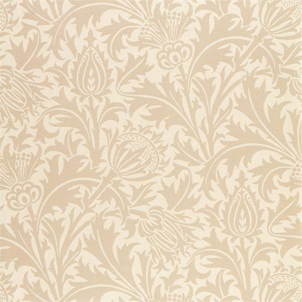 William Morris Wallpaper 1 x Roll of Linen Pure Thistle Wallpaper William MorrisPure Thistle Wallpaper 4 colours