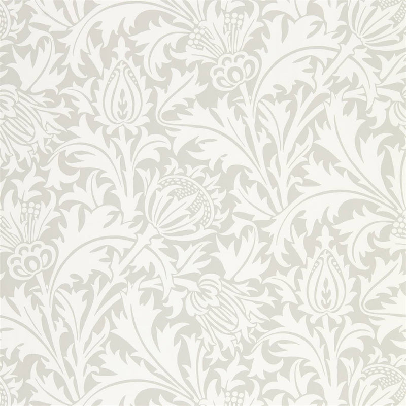 William Morris Wallpaper 1 x Roll of Pebble Pure Thistle Wallpaper William MorrisPure Thistle Wallpaper 4 colours