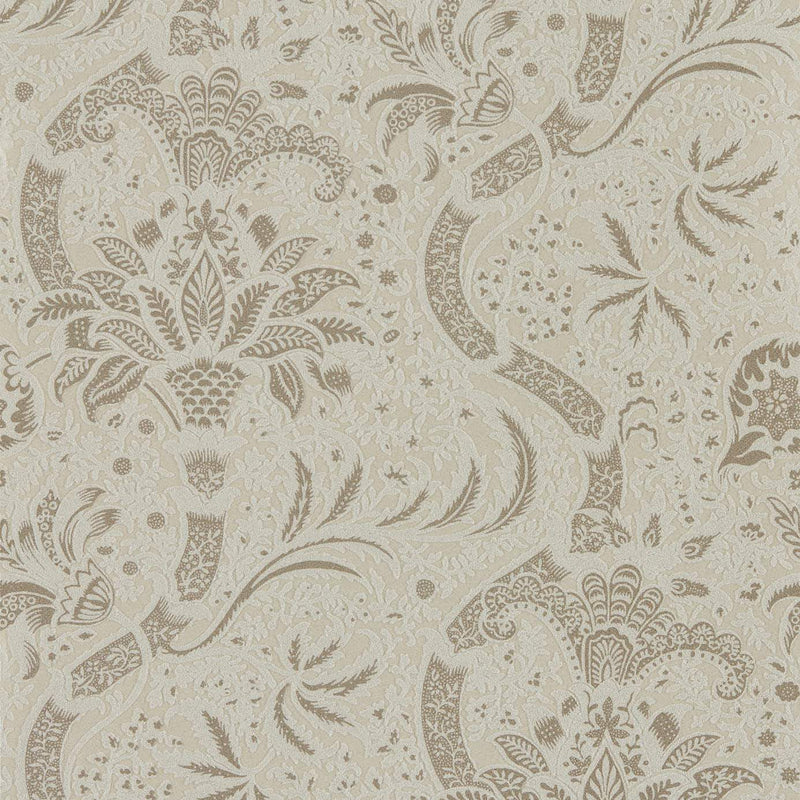 William Morris Wallpaper 1 x Roll William Morris Indian Wallpaper Beaded Stone/Linen William Morris Indian Wallpaper 3 colourways
