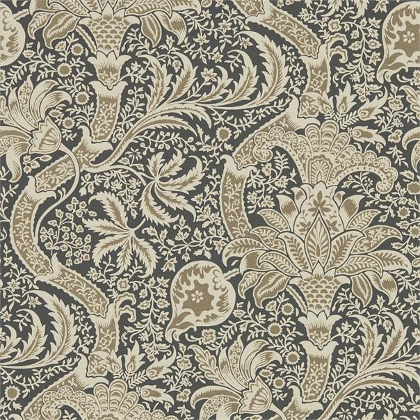 William Morris Wallpaper 1 x Roll William Morris Indian Wallpaper Charcoal/Nickel William Morris Indian Wallpaper 3 colourways