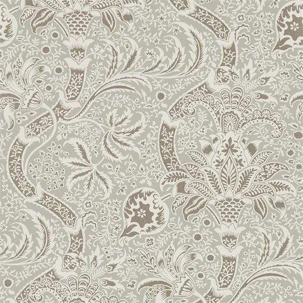 William Morris Wallpaper 1 x Roll William Morris Indian Wallpaper Grey/Pewter William Morris Indian Wallpaper 3 colourways