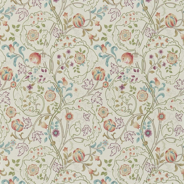William Morris Wallpaper 1 x Rose/Artichoke Mary Isobel Wallpaper Roll William Morris Mary Isobel Wallpaper 5 colourways