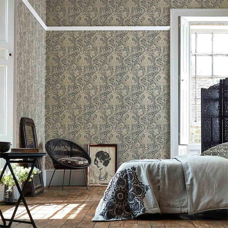 William Morris Wallpaper William Morris Indian Wallpaper 3 colourways
