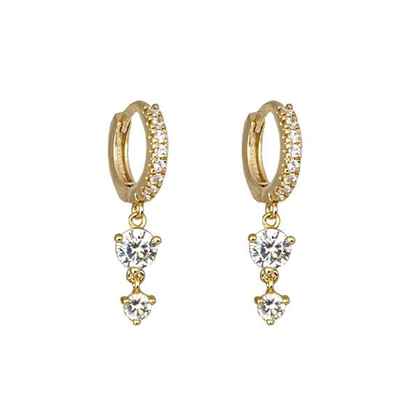 Zahar Jewellery 1 x Pair of Delilah Earrings Earrings Leora