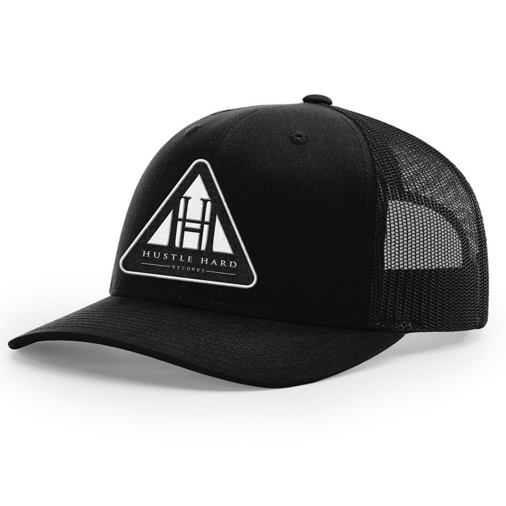 Hustle Hard Records Hat - Black