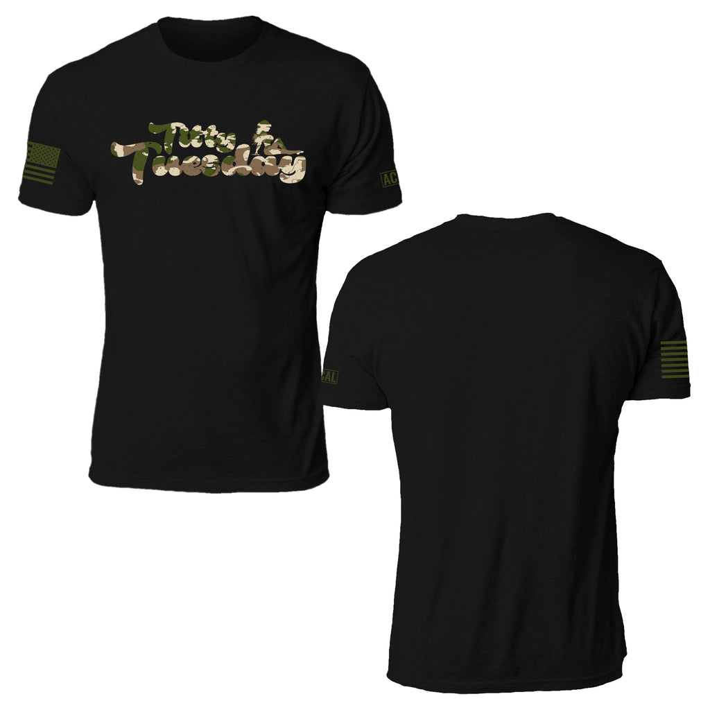 Camo Titty Tuesday T-Shirt