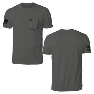 Basic Pocket T-Shirt - Charcoal