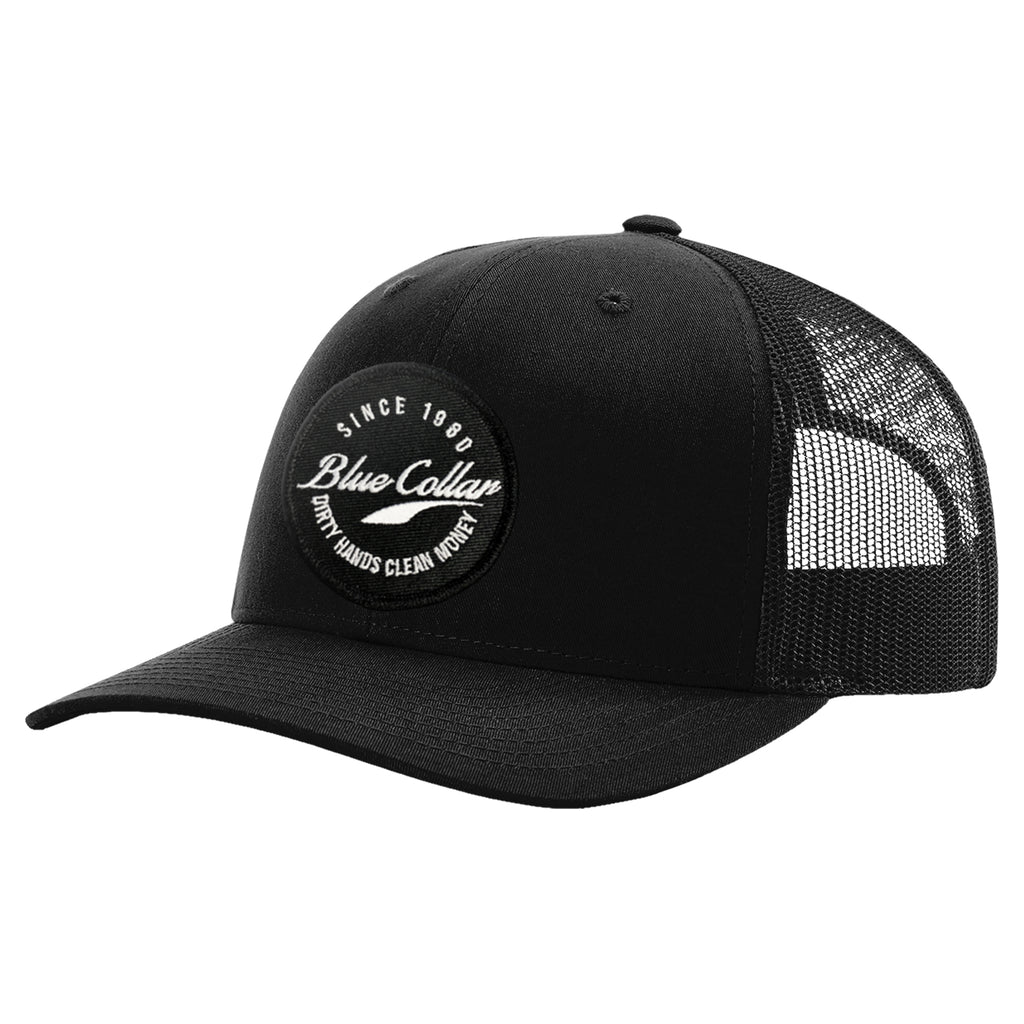 Blue Collar Hat - Black