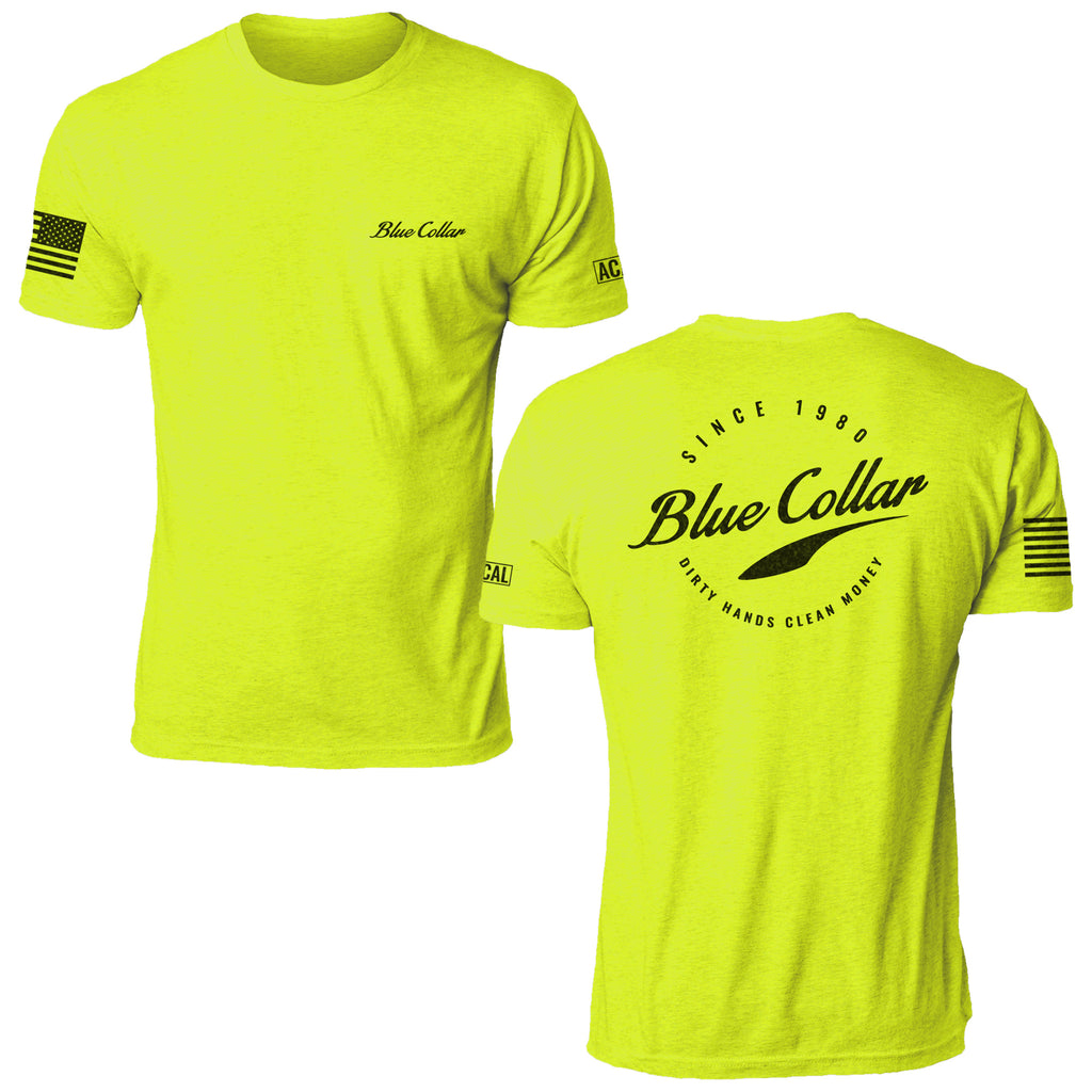 Blue Collar - Safety Green
