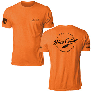 Blue Collar - Safety Orange